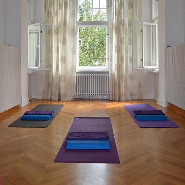 Pilates Gruppenraum